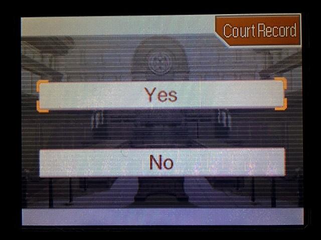 逆転裁判2 北米版 弁護士以下の男10