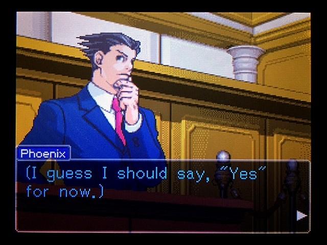 逆転裁判2 北米版 弁護士以下の男11