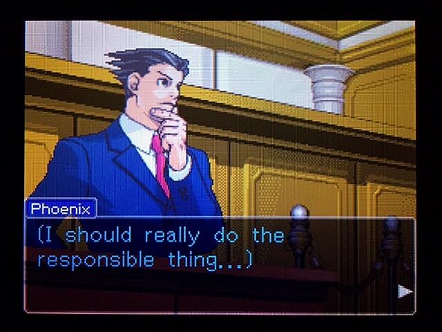 逆転裁判2 北米版 弁護士以下の男14