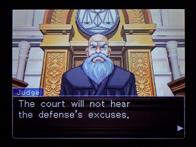 逆転裁判2 北米版 弁護士以下の男16