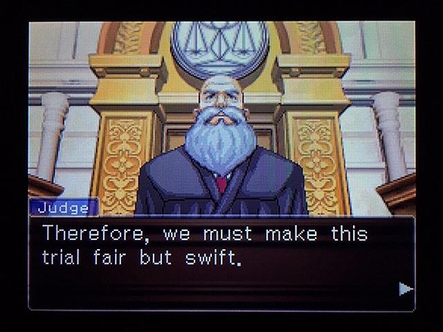 逆転裁判2 北米版 弁護士以下の男17
