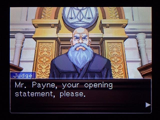 逆転裁判2 北米版 弁護士以下の男19