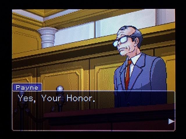 逆転裁判2 北米版 弁護士以下の男20