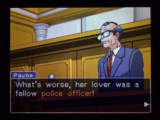 逆転裁判2 北米版 弁護士以下の男22