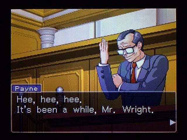 逆転裁判2 北米版 弁護士以下の男28