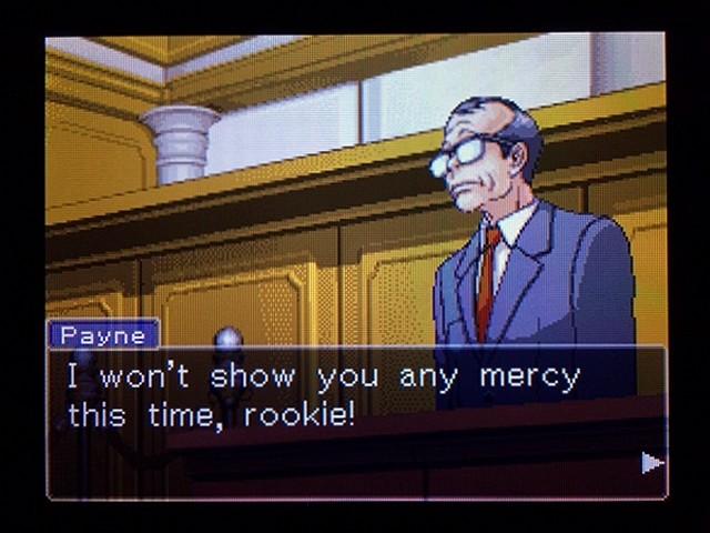 逆転裁判2 北米版 弁護士以下の男29