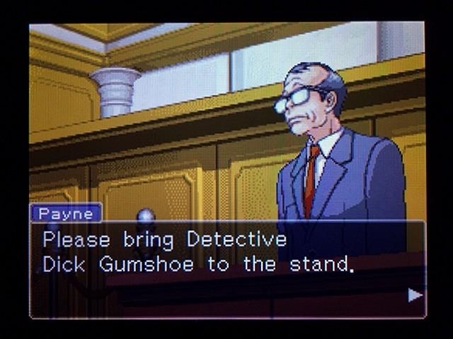 逆転裁判2 北米版 弁護士以下の男31