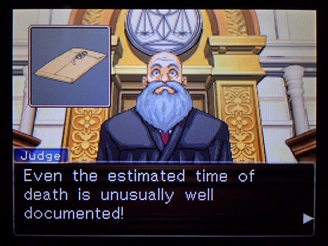 逆転裁判2 北米版 ディテクティブ・ガムシュー入廷18