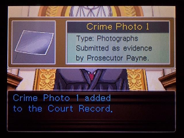 逆転裁判2 北米版 ディテクティブ・ガムシュー入廷23