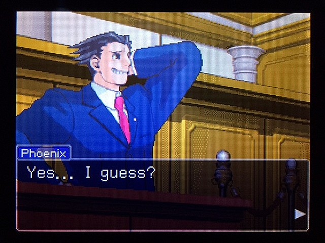 逆転裁判2 北米版 ディテクティブ・ガムシュー入廷28
