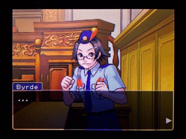 逆転裁判2 北米版 ディテクティブ・ガムシュー入廷35