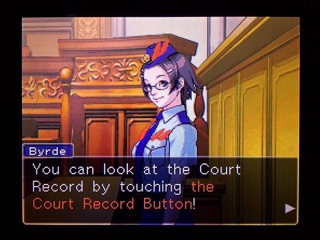 逆転裁判2 北米版 ディテクティブ・ガムシュー入廷39