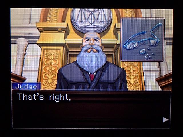 逆転裁判2 北米版 ディテクティブ・ガムシュー入廷51