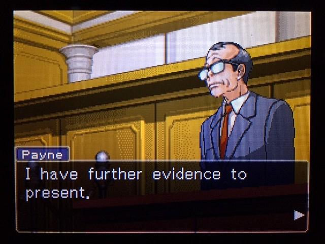 逆転裁判2 北米版 ディテクティブ・ガムシュー入廷60