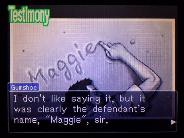 逆転裁判2 北米版 The Name6