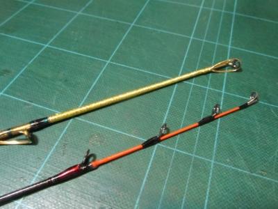 中深場竿とヒラメ竿1
