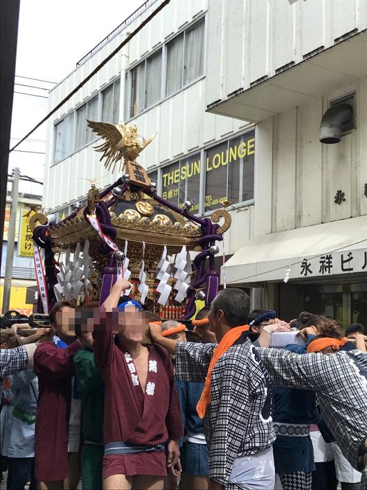 布多天神社 お祭り4