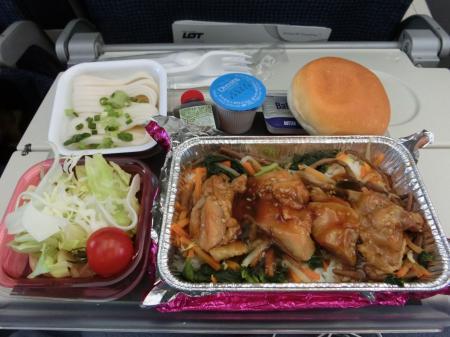 LOTポーランド航空 機内食8