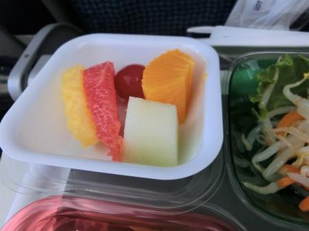 LOTポーランド航空 機内食5
