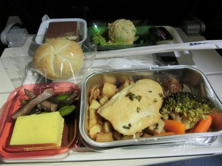 LOTポーランド航空 機内食11