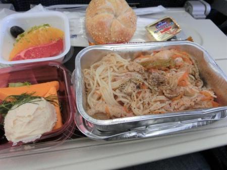 LOTポーランド航空 機内食16