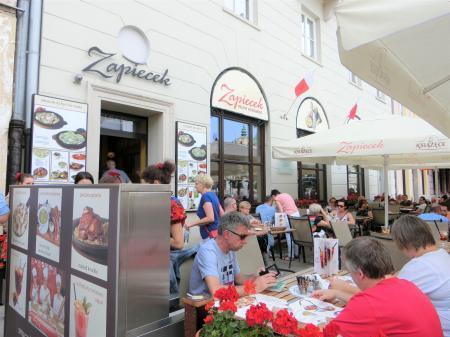 ワルシャワ旧市街地 おすすめレストラン「Zapiecek 」1