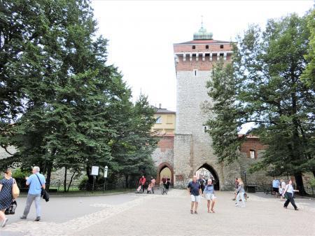 クラクフ フロリアンスカ門1