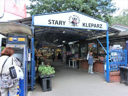 クラクフのマーケット(屋外市場)stary kleparz1