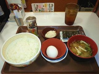 170807_4814 すき家の「たまかけ朝食」250円VGA