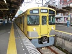 田無始発・急行2104レの回送到着