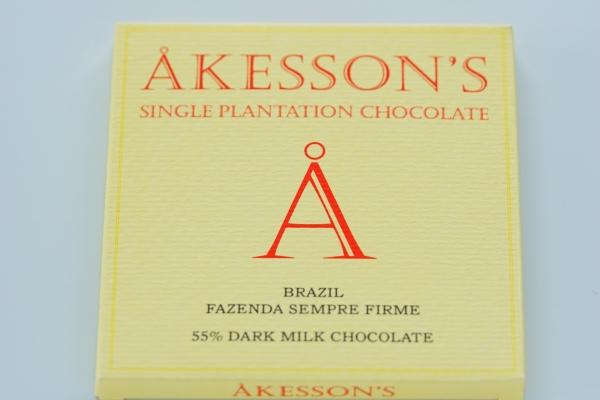【AKESSON'S】BLAZIL FAZENDA SEMPRE FIRME 55% DARK MILK CHOCOLATE