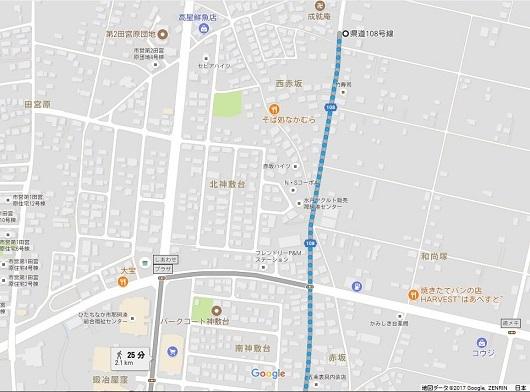 忠勇戦士の墓(首塚)地図