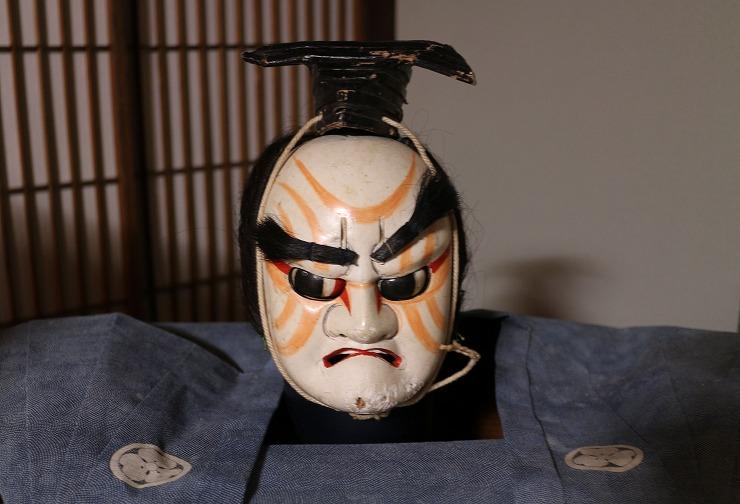 平田屋さんから出てきたとか 人形カシラ 29 9 24