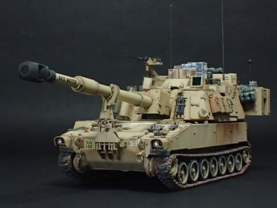 M109パラディン自走砲