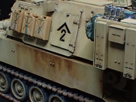 M109パラディン自走砲 砲塔