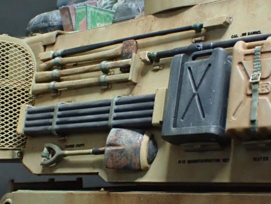 M109パラディン自走砲 車外装備品