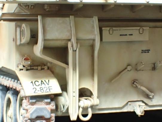 M109パラディン自走砲 車体後部