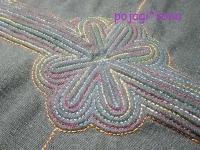 緑 セキシルヌビ グラデーション糸