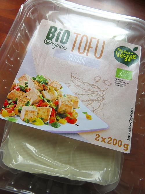 フィンランド Lidl オーガニック 豆腐