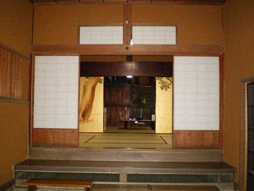 飯塚邸・玄関