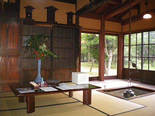 飯塚邸・茶の間