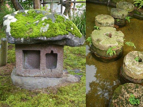 飯塚邸・庭石
