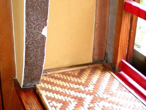 宇喜世・桜三階 装飾