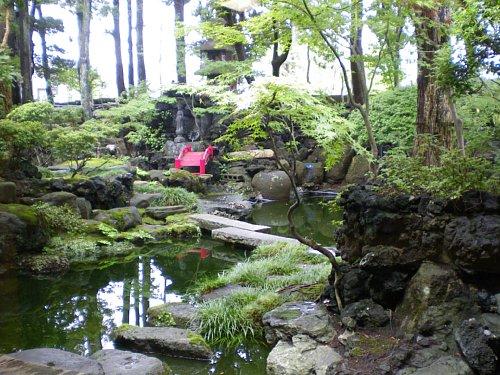 宇喜世・庭園
