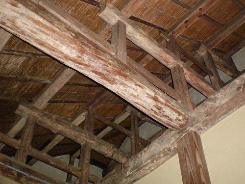旧小坂家住宅・玄関天井