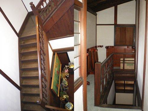 安養院・階段
