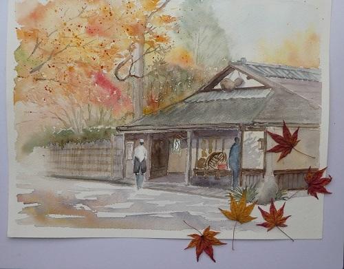 京都ヒョウテイの紅葉