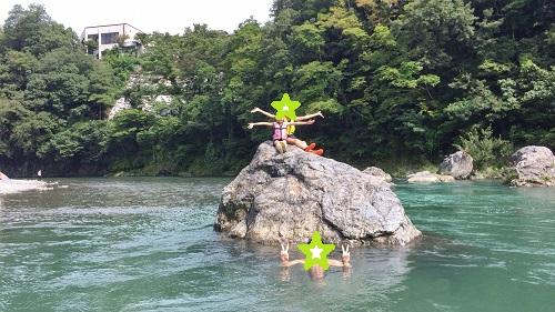 奥多摩日帰り旅行~夏休みは奥多摩の清流で川遊び~