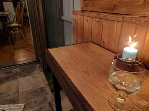 端材を使って珈琲を楽しむカウンターテーブルをDIY