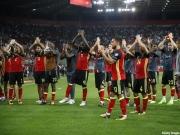 出場が決まったベルギー代表